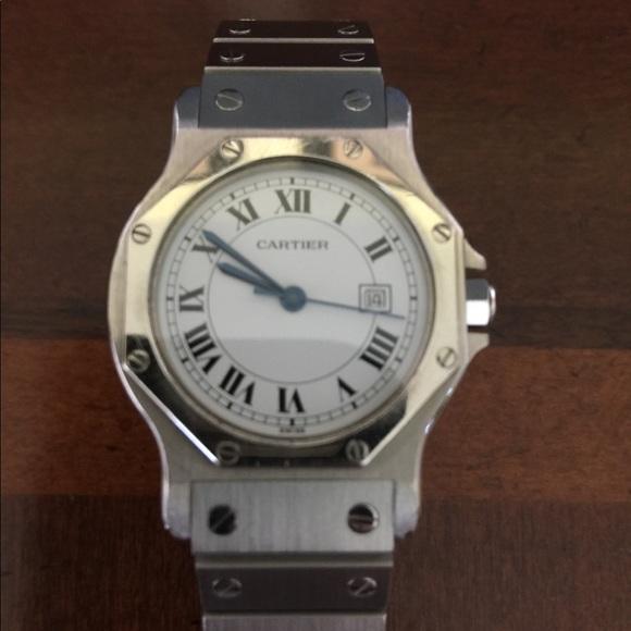 Cartier Accessories - Authentic Cartier Octagon Midsize watch